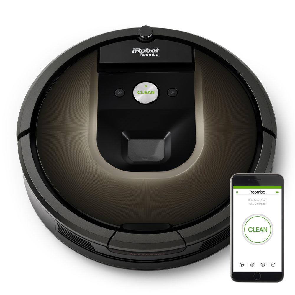 iRobot Roomba 866 robot aspirateur Sans sac Noir