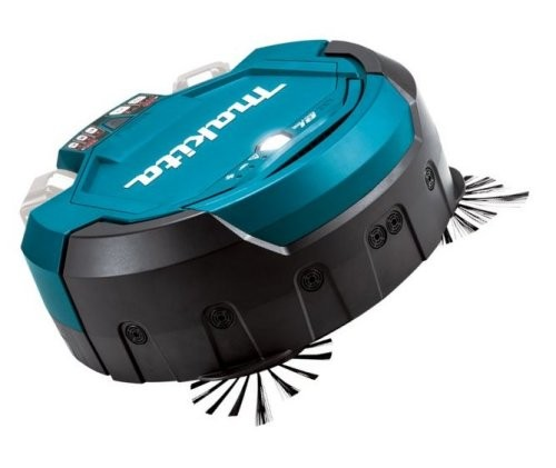 Makita 18V battery robot vacuum cleaner, DRC200Z, bleu, M
